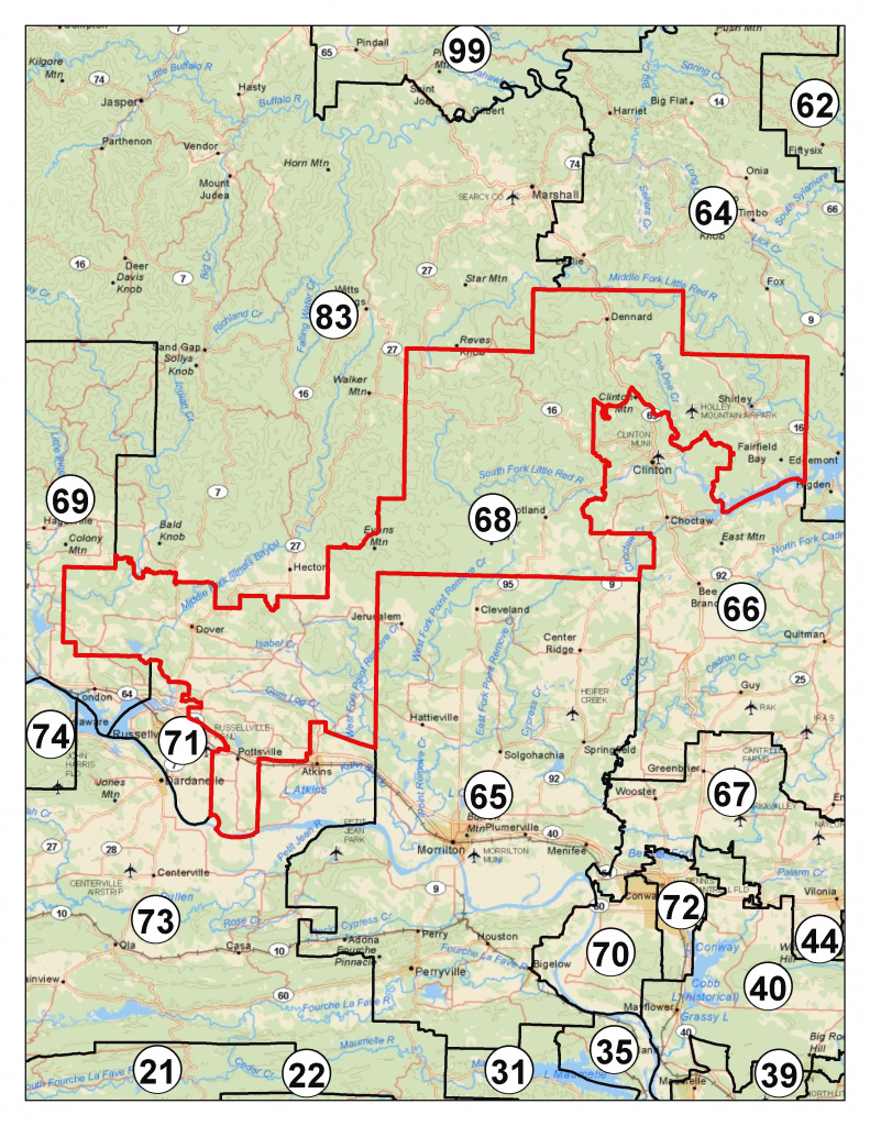 Apportionment | Maps within Arkansas State Senate Map