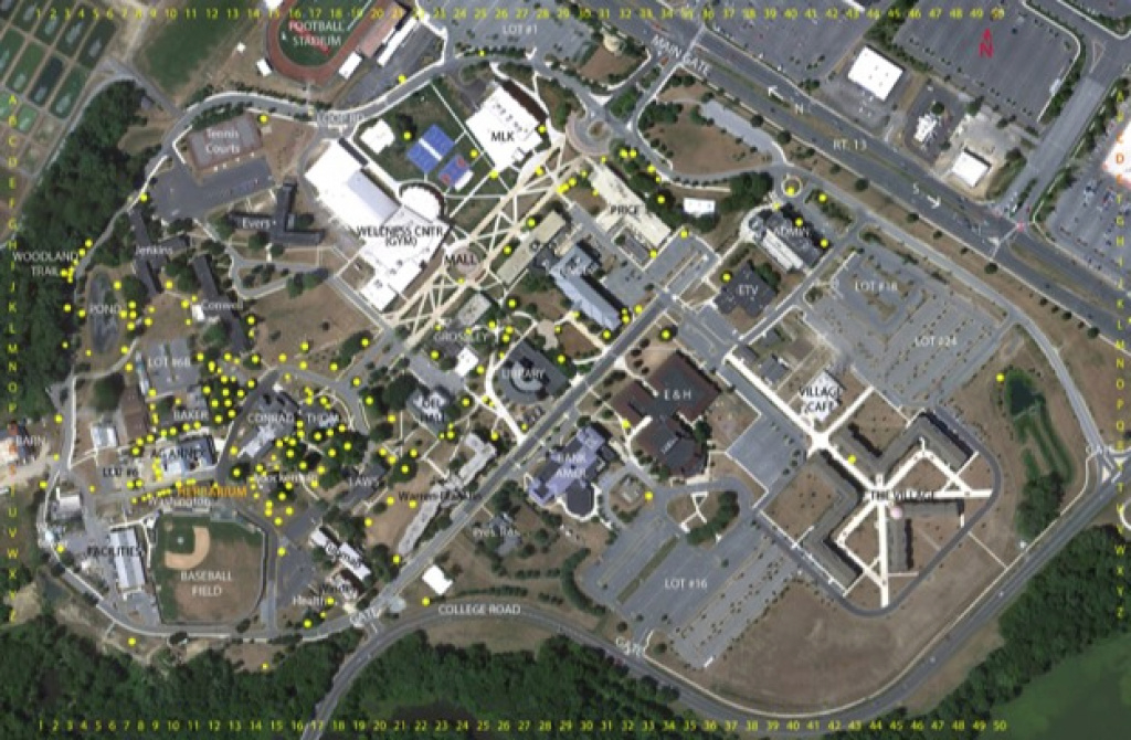 Arboretum Homepage within Delaware State University Campus Map