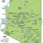 Arizona State Parks: Map In State Park Map
