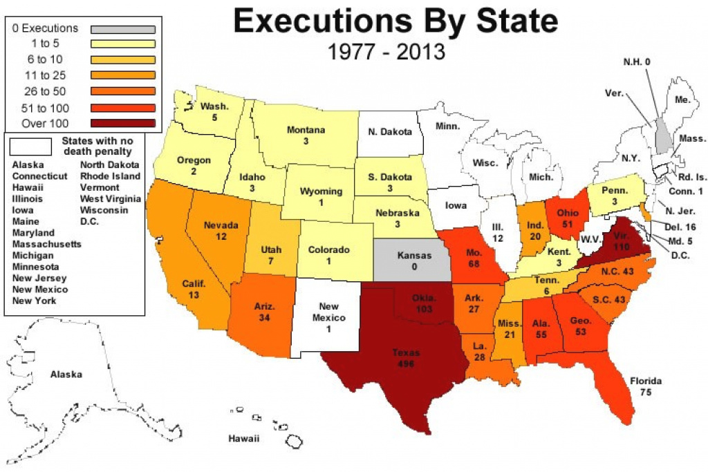 At Map Of Us States Death Penalty - Cloudbreakevents.co.uk for Death Penalty States Map
