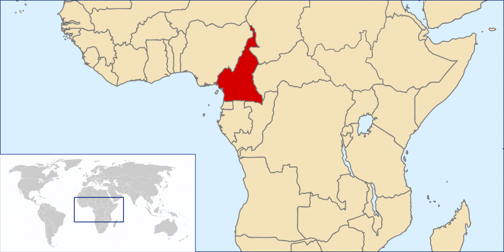 Atlas Of Cameroon - Wikimedia Commons with regard to Uno State Of Cameroon Map