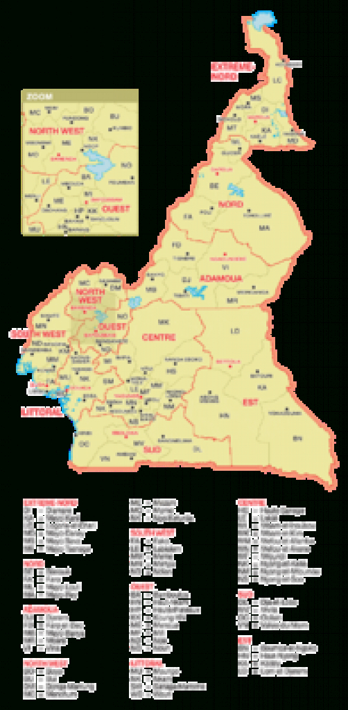 Atlas Of Cameroon - Wikimedia Commons with Uno State Of Cameroon Map
