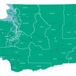 August 7, 2018 Primary   Federal Representatives Throughout Washington State Legislative Map