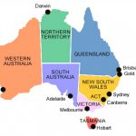 Australia Major Cities Map And Travel Information | Download Free Within Map Of Australia With States And Major Cities