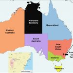 Australia States And Territories Map   Geocurrents Intended For Australian States And Territories Map