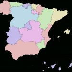 Autonomous Communities Of Spain   Wikipedia Within Spain States Map
