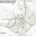 Backcountry Camping In Big Bend National Park   The Complete Guide Intended For Big Bend State Park Map