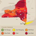 Beautiful Peak Colors This Weekend In Most Regions Of New York State With New York State Foliage Map