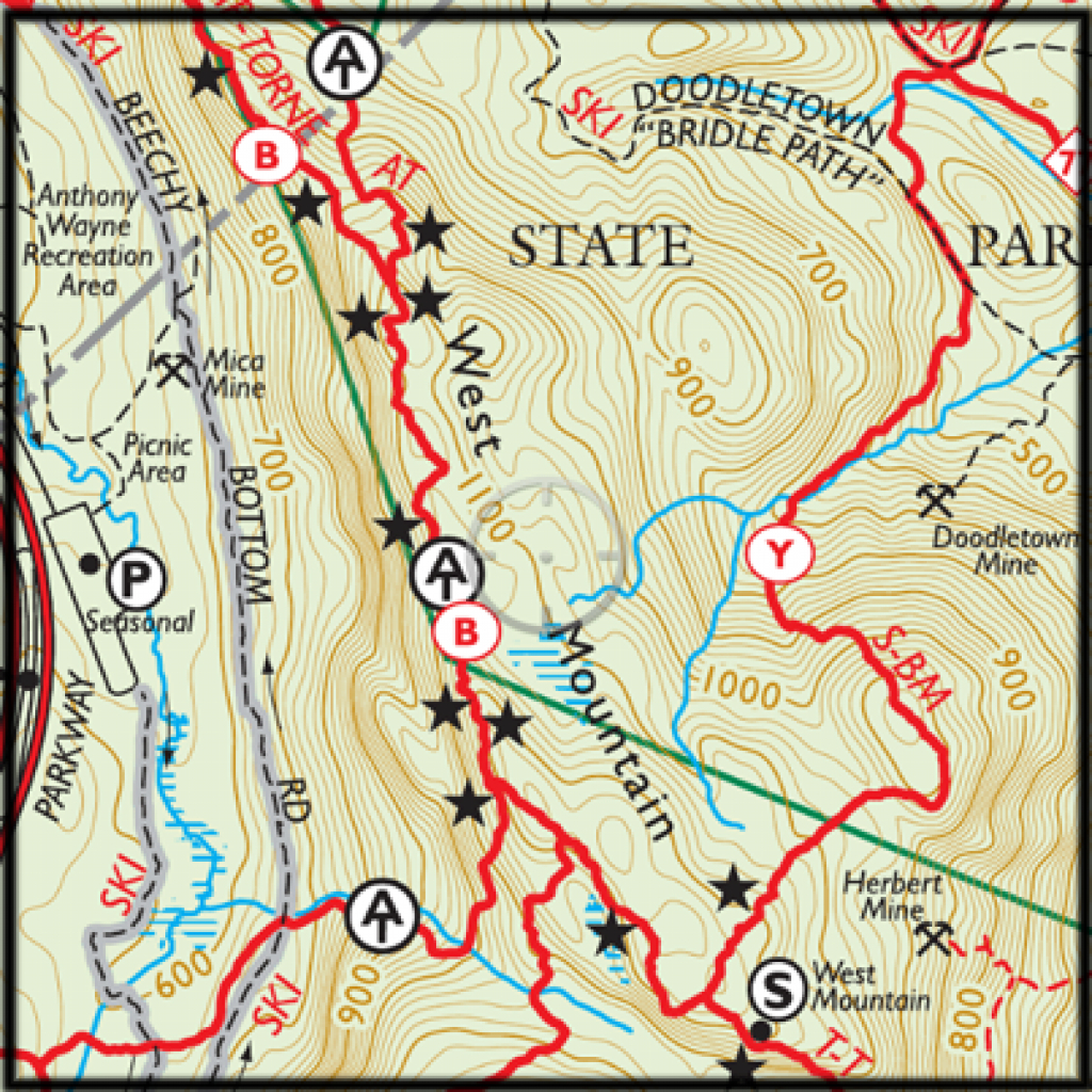 Best Hikes In Harriman, And How To Find Them. - | My Harriman pertaining to Harriman State Park Trail Map