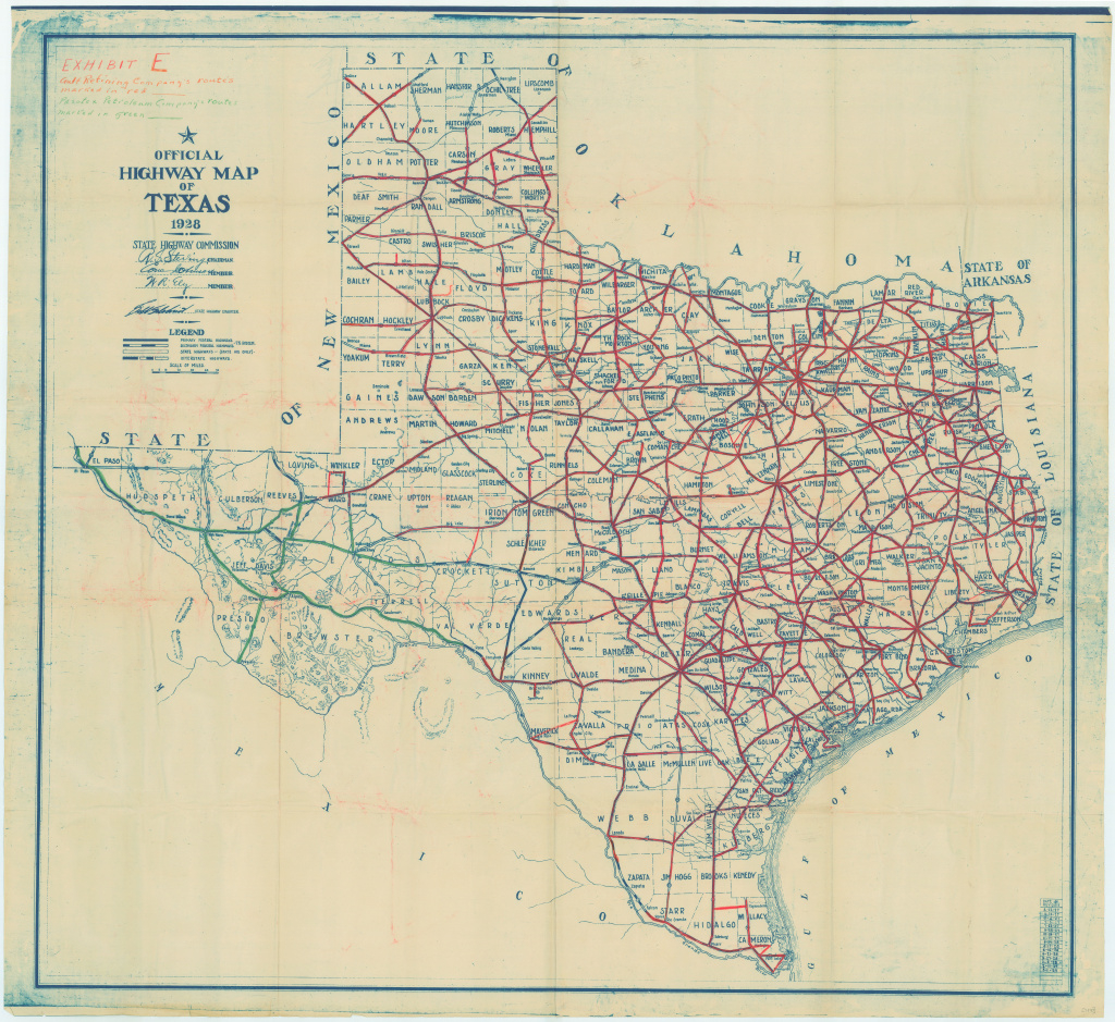 Best Photos Of Texas Highway Map - Texas State Highway Map, Texas within Texas State Highway Map