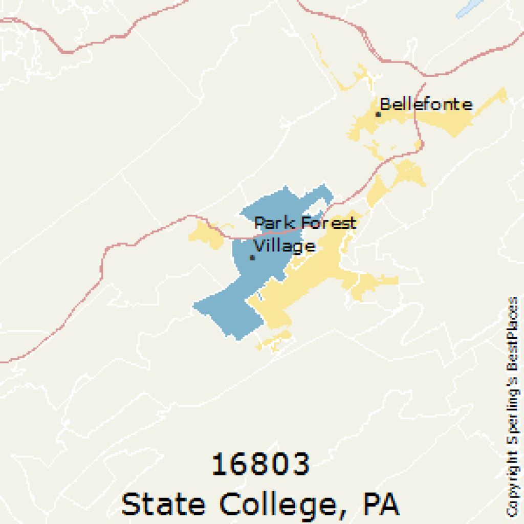 Best Places To Live In State College (Zip 16803), Pennsylvania pertaining to State College Zip Code Map