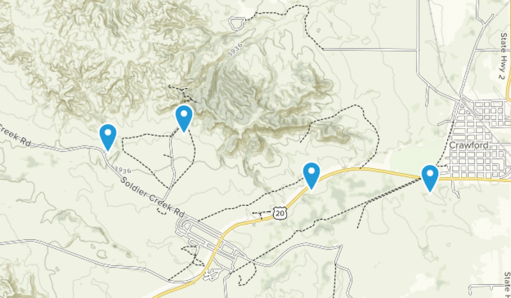 Best Trails In Fort Robinson State Park - Nebraska   Alltrails inside Map Of Fort Robinson State Park