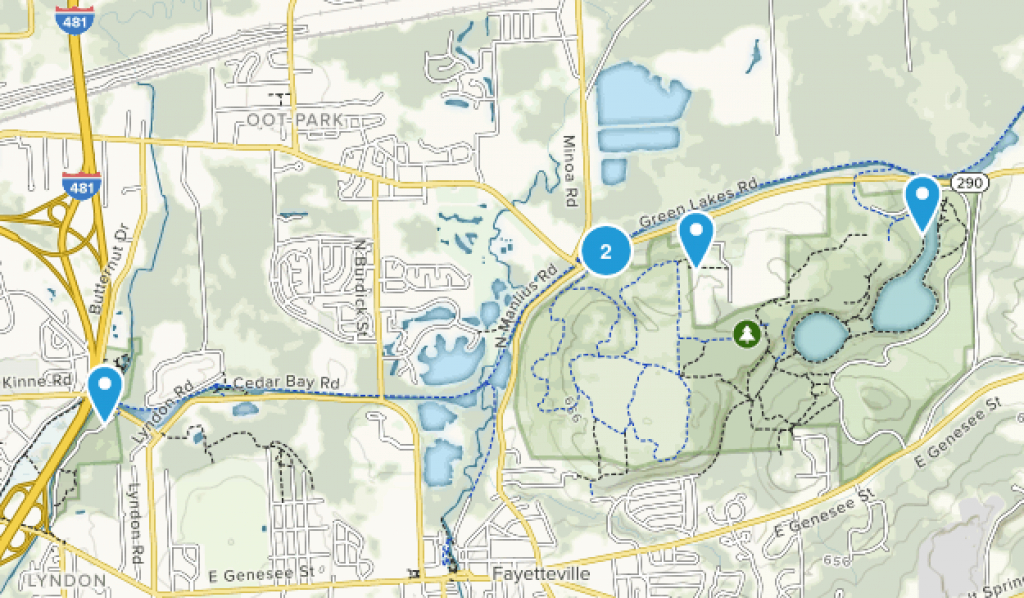 Best Trails In Green Lakes State Park - New York | Alltrails pertaining to Green Lakes State Park Trail Map
