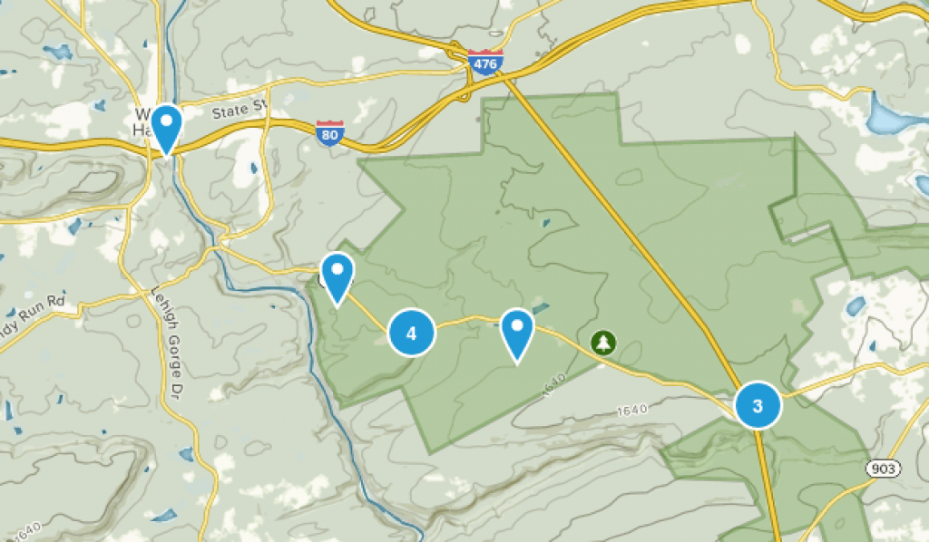 Best Trails In Hickory Run State Park - Pennsylvania | Alltrails in Hickory Run State Park Trail Map