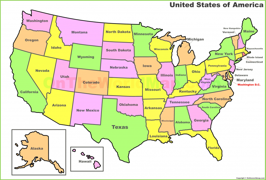 Best United States Map With State Lines | Superdupergames.co for Us Map With State Lines