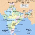 Bestand:india States And Union Territories Map.svg   Wikipedia Inside Capitals Of Indian States Map