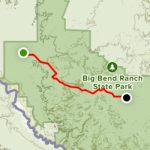 Big Bend Ranch State Park Trail   Texas | Alltrails Throughout Big Bend State Park Map