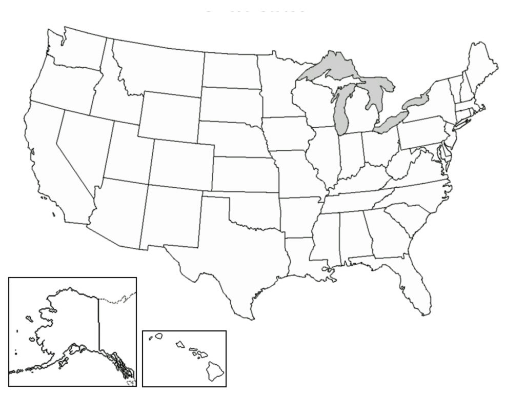 Blank Map Of Continental Us Blank Us Outline Map Printable United throughout Blank Outline Map Of The United States