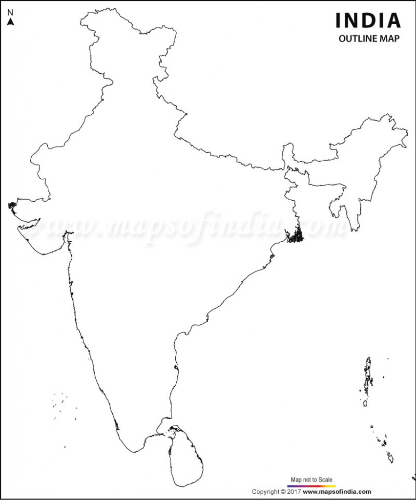 Blank Map Of India, Download Free India Blank Map with regard to India Blank Map With States Pdf