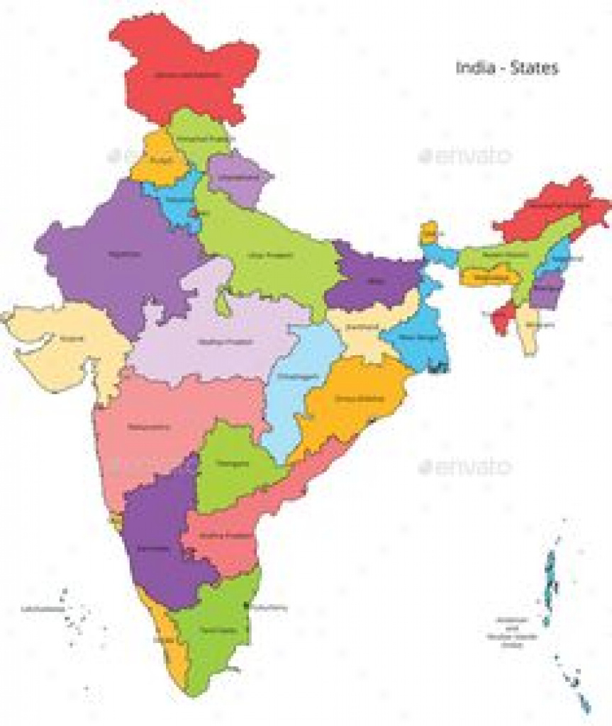 Blank Map Of India Pdf Maps Political Map India Outline Blank Of Pdf with India Map Pdf With States