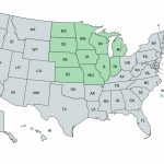 Blank Map Of Midwest Region Best Of United States Midwest Region Map Throughout Blank Map Of Midwest States