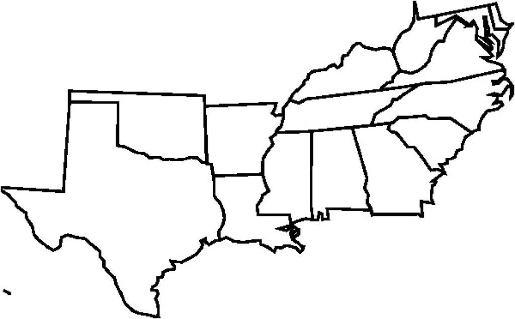 Blank Map Of The Southeast Region ~ Blueappleinc with regard to Map Of The Southeast Region Of The United States