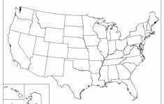Blank Map Of The United States Printable Usa Map Pdf Template intended for United States Map Print