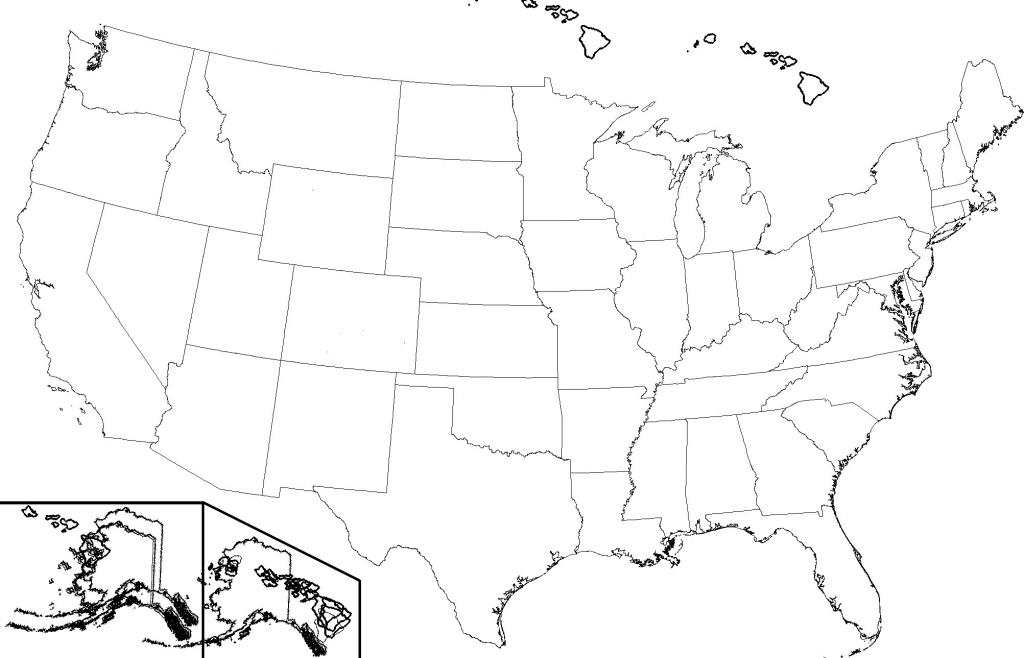 Blank Map Of Us High Quality Blank Us Map Fill In States Us State for Blank State Map Pdf