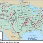 Blank Maps For Quizzes Pertaining To Physiographic Map Of The United States