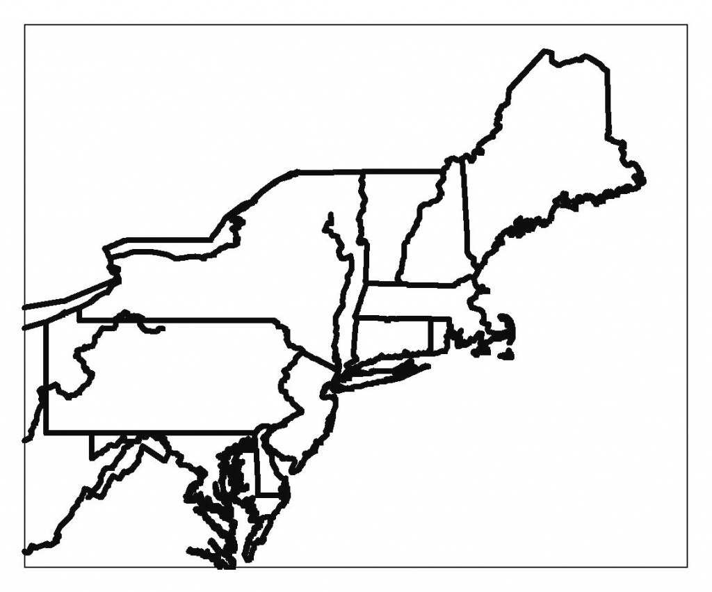 Blank Outline Map Eastern United States Artmarketing Me Incredible within Outline Map Northeast States