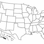 Blank Physical Maps Of The Us Continental Us Political Map Physical Regarding Blank Physical Map Of The United States
