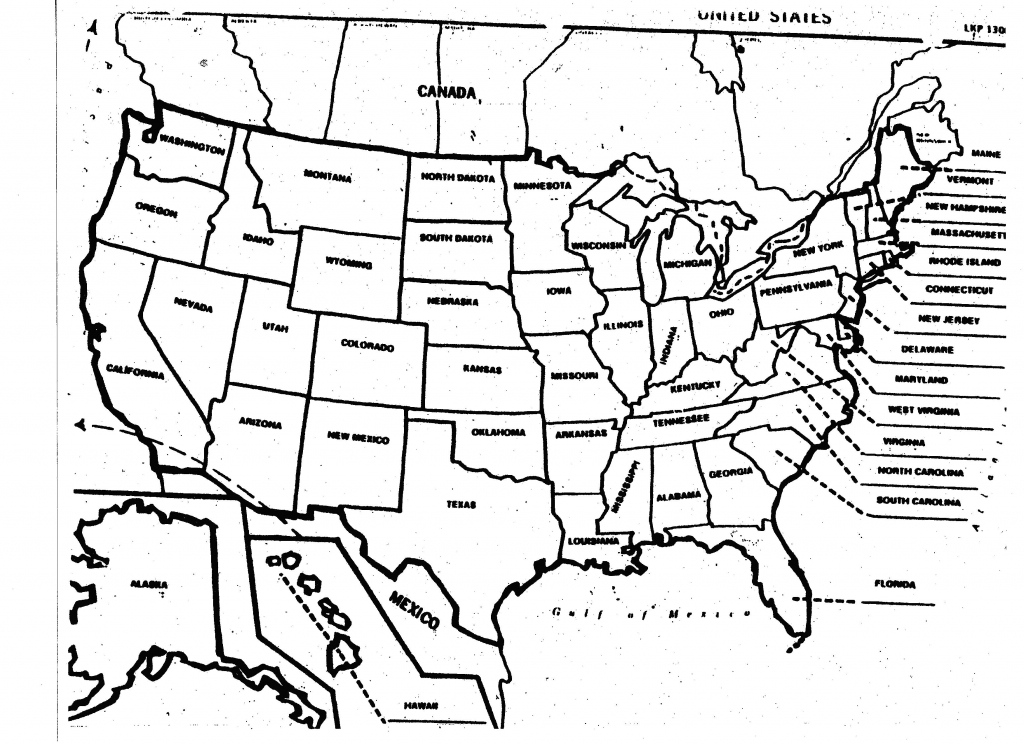 Blank United States Map Printable Worksheet Refrence Map Of regarding Northeast States And Capitals Map Quiz