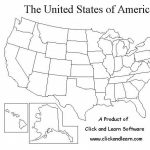 Blank United States Map Quiz Pdf   Name All The 50 States Quiz With 50 States Map Pdf