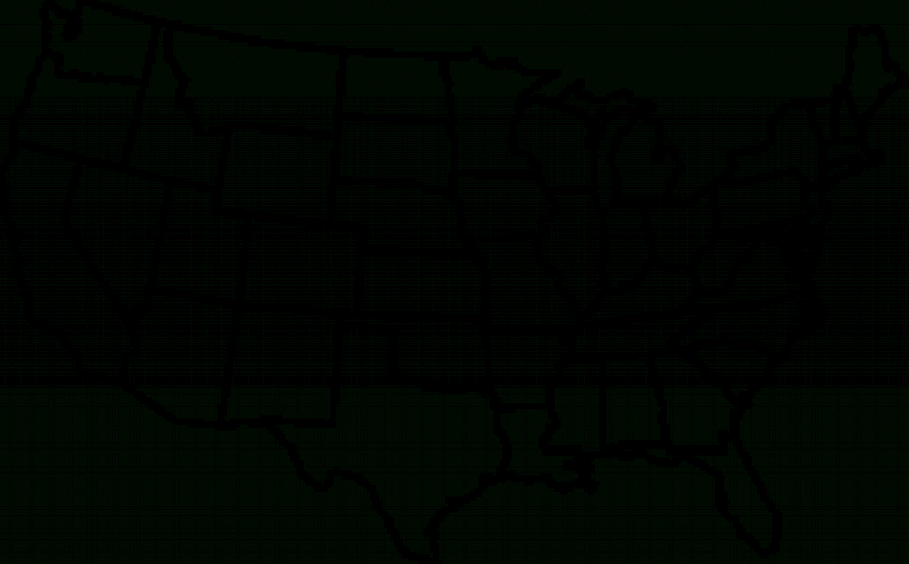 Blank Us Map Clip Art At Clker - Vector Clip Art Online, Royalty in Blackline Maps Of The United States