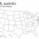Blank Us Map Fill In States Best United States Map Label Worksheet Intended For Blank Us State Map