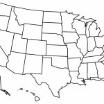 Blank Us State Map Printable Printable United States Maps Outline Pertaining To Blank States And Capitals Map Printable