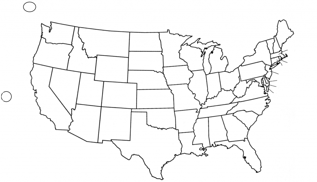 Blank Us State Map Printable United States Maps Outline And Capitals intended for Blank State Map Pdf