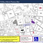 Blue White Parking Info : Steve Jones Show Within Penn State Football Parking Map 2017