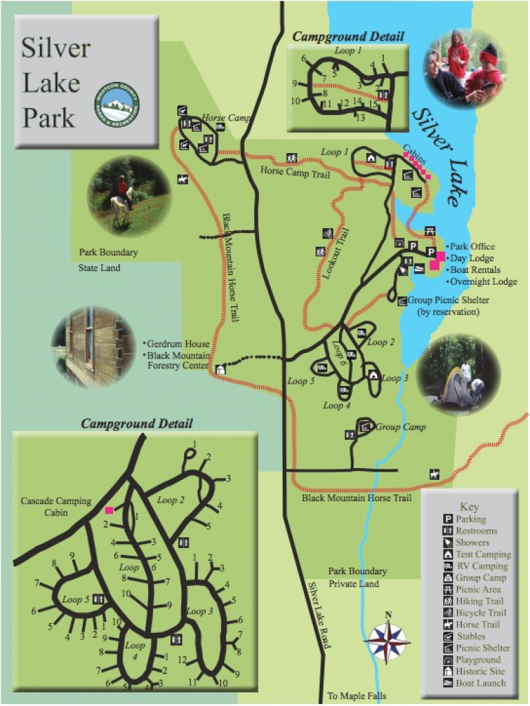 Boating, Fishing, Picnicking And Camping At Silver Lake Park Near Mt inside Silver Lake State Park Campground Map