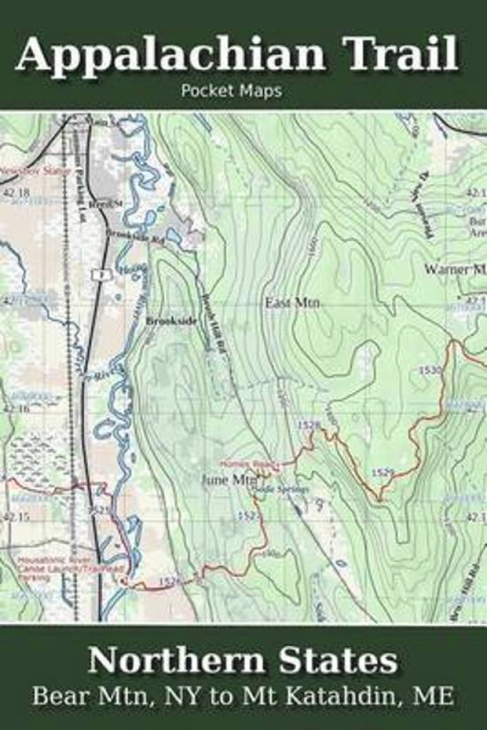 Bol | Appalachian Trail Pocket Maps - Northern States intended for Northern States Map