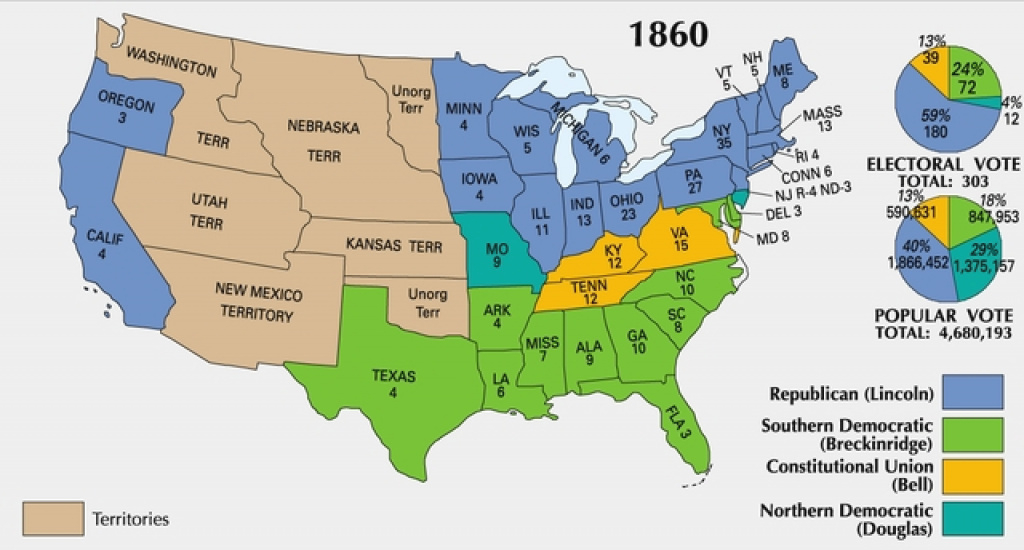 Border State Civil War Secession Border States Slavery Map with regard to Outline Map The States Choose Sides