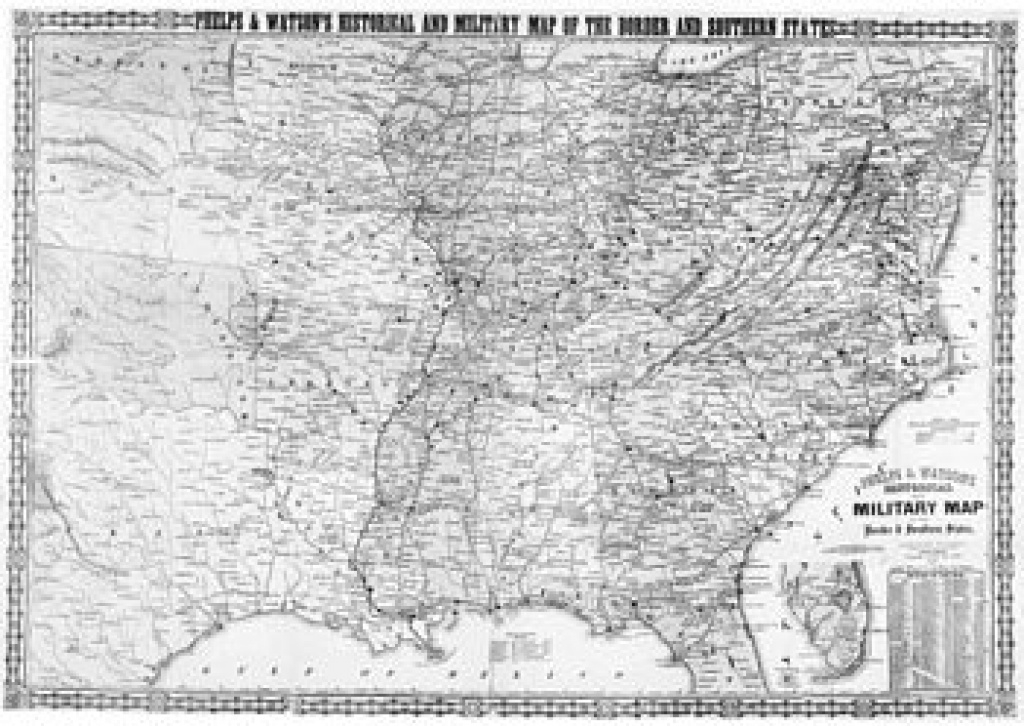 Border States (American Civil War) - Wikipedia intended for Civil War Border States Map