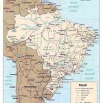 Brazilian States, Abbreviations And Information In Map Of Brazil States And Cities