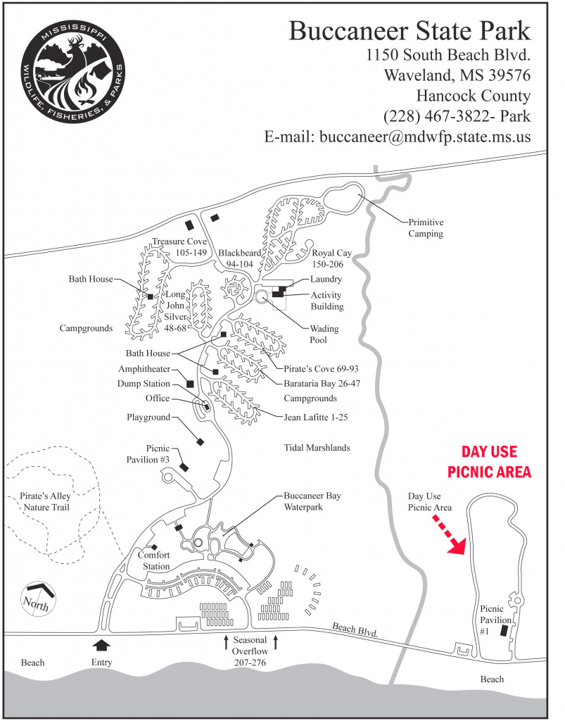 Buccaneer Photos within Buccaneer State Park Campground Map