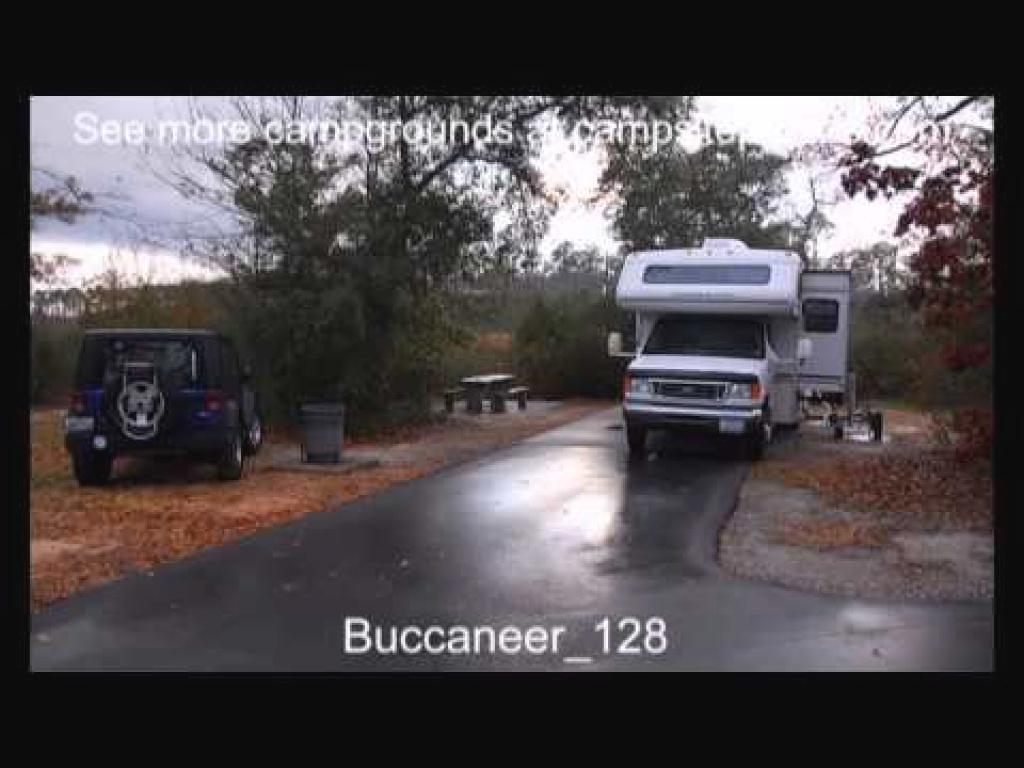 Buccaneer State Park, Mississippi - Youtube intended for Buccaneer State Park Campground Map