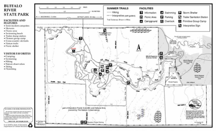 Itasca State Park Trail Map