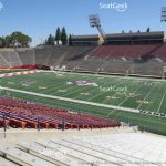 Bulldog Stadium Seat Views | Seatgeek Regarding Fresno State Stadium Map