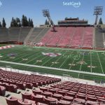 Bulldog Stadium Seat Views | Seatgeek Within Fresno State Stadium Map