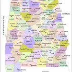 Buy Alabama County Map Intended For Alabama State Map With Counties