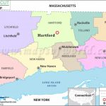 Buy Connecticut County Map For Connecticut State Map With Counties And Cities